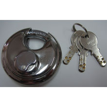 Shengli Stainless Steel Round Disc Padlock with Computer Key