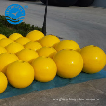 Polyurethane foam filled floater, marine buoy floater used in sea or river