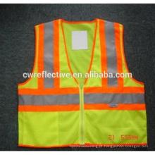 Crianças reflexivas da veste reflexiva da segurança alta que encontram EN1150