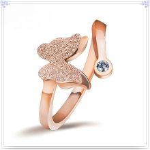 Joyería cristalina de la joyería de la manera del anillo 925 joyería de la plata esterlina (CR0056)