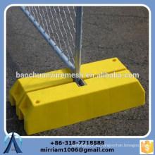 Malla de alta calidad de 60 * 60 mm temporal independiente de los paneles de la cerca del enlace de la cadena