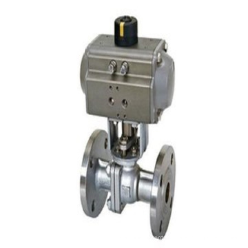 Investment Casting Pneumatic Actuator Flange Valve (Machining)