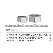 Chrome Plated Brass Nut
