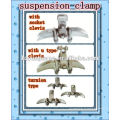 electrical Aluminium alloy suspension clamp electric overhead line fitting power line hardware transmission line accessories