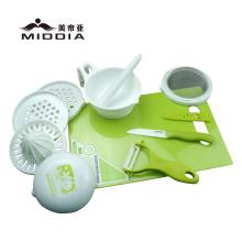 Moinhos de comida de cozinha com conjuntos de ferramentas Juicer para comida de bebê