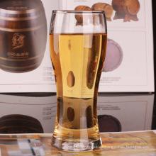 Taza de cristal para la cerveza Agua potable de la taza de cristal con la manija