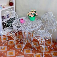 Hot Selling Metal Iron Table et chaises portables