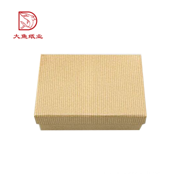 Professional manufacture new personalized corrugated packaging box clothing