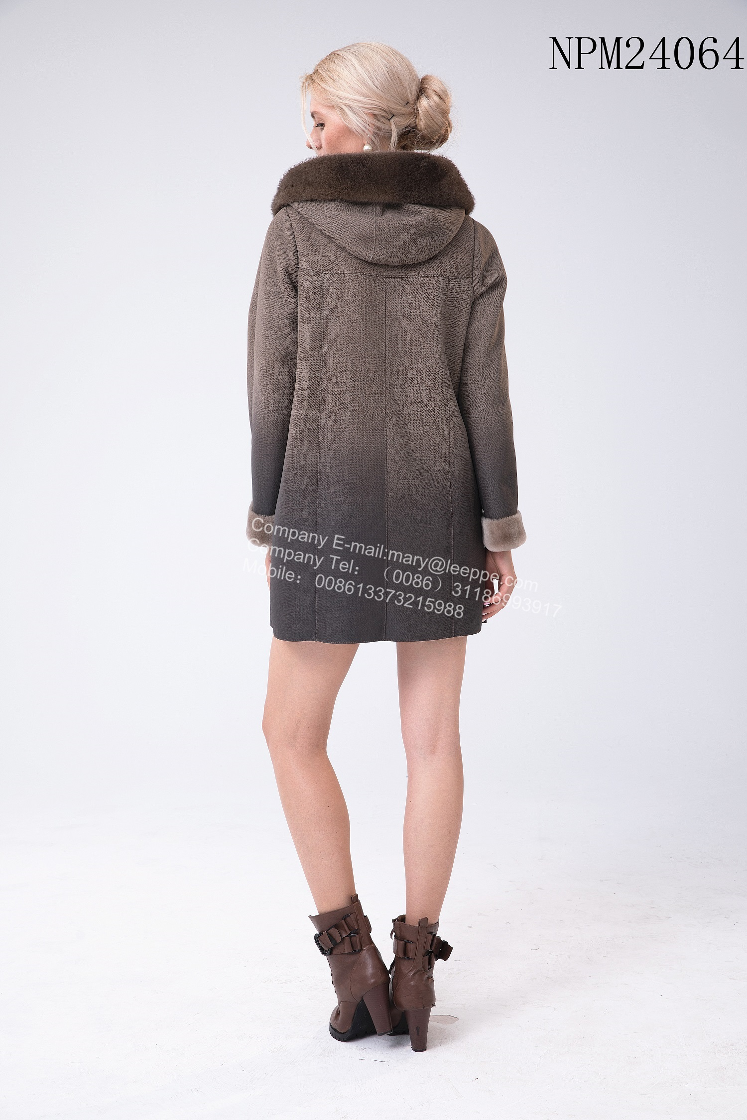 Winter Australia Merino Shearling Hooded Jacket