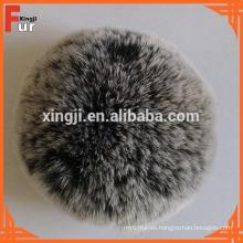Venta al por mayor Real Rex Rabbit Fur Pompons