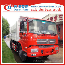 Dongfeng kingrun 14cbm capacity of docking garbage truck