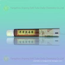 Алюминиевые & пластиковая трубка для кожи антисептический крем