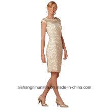 Frauen-Chiffon- Mantel-Abend-Partei-Abschlussball-Kleid