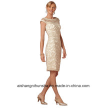 Women Chiffon Sheath Evening Party Prom Dress