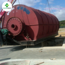 Continuous Used Rubber Recycling Equipment Continuous Scrap Tyre Pyrolysis waste tire pyrolysis machine