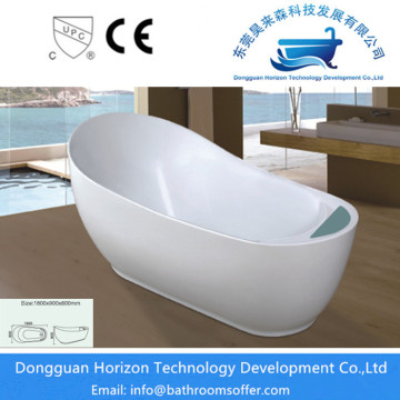 Acrylic freestanding spa tub drop in bathtub