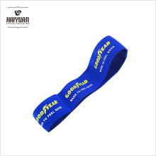 Neueste Umwelt 3cm Breite Elastische Band Blaue Farbe mit Silk Screen Customized Printing