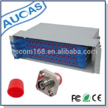 48 port rack mount 19 fiber optic odf fiber distribution frame