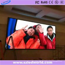 Высокой четкости 1.56 мм крытый светодиодный дисплей экран завода