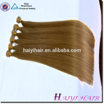 Extensión rizada dibujada doble del pelo de la extremidad de Remy U del pelo ruso al por mayor directo de la fábrica de la calidad