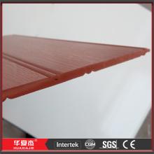 Materiais de plásticos madeira anti-séptico como placa de parede