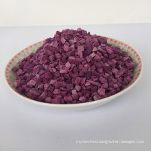 Factory direct sale Good quality tasty sweet fresh Purple potato granules
