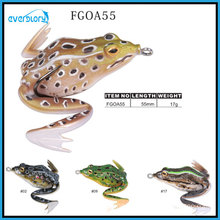 Multi Color Vavid Frog Lure