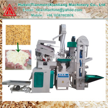 Rizière CTNM15B avec décorticage de riz paddy Hubei