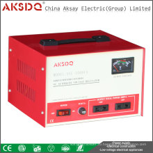 2015 Hot SVC 1kva Главная Использование 1000va 50Hz Высокоточный стабилизатор напряжения серводвигателя переменного тока Yueqing