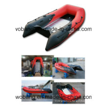PVC/Hypalon Inflatable Belly Boat with Aluminium Floor Made in Weihai
