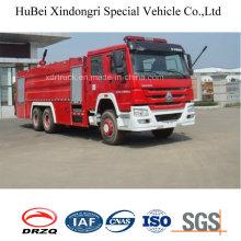 16ton HOWO Пенообразователь и водяной бак Тип пожаротушения Euro 4