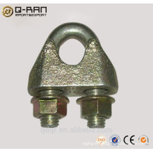 Rigging Hardware Cable abrazadera Clip de cuerda de alambre maleable - Din1142