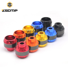 SCL-2017100001 Latest arrival Carbon Fiber Motorcycle Frame Sliders Crash Protector