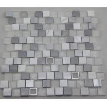 Белая алюминиевая мозаика / Мозаика из стекла / Мраморная мозаика (HGM392)
