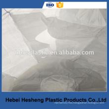 1000 kg fibc PP woven waterproof super bulk bag with baffle inside