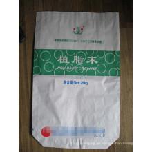 Bolsa de papel Kraft de varias capas para mortero seco