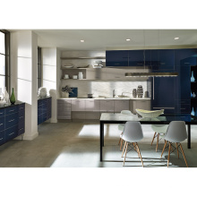 Factory Price High End Luxury Lacquer Kitchen cabinets Unit Industrial Free Design Modern Kitchen Cabinet