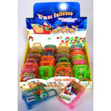 X'mas Koffer Anspitzer mit Süßigkeiten (110615)
