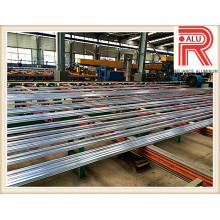 Aluminium / Aluminium-Legierung Profil für modularen Rahmen-Abschnitt