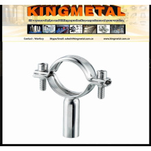 Ss304/316 Food Grade Pipe Hanger / Stainless Steel Adjustable Pipe Support