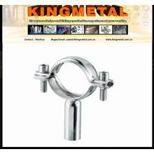 Cabide de tubulação Ss304/316 alimentos grau / suporte de tubulação de aço inoxidável ajustável