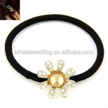 Wholesale hair rope sunflower style traditional hair accessories