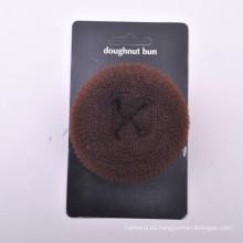 Pelo Donut Bun con la tarjeta de papel (BUN-40)