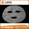 nonwoven fabric collagen dry facial mask sheet water soluble