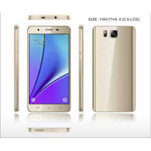 5.5inch HD 1280 * 720, Mtk6580 1.3GHz, téléphone intelligent Front2.0MP ou 2.0MP
