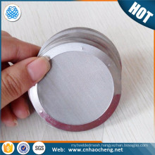 100um micron stainless steel filter mesh/filter elements/filter discs