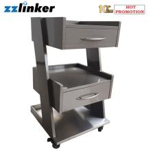 Mobilier d'armoire dentaire mobile en acier inoxydable