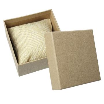 Simple kraft brown watch paper box