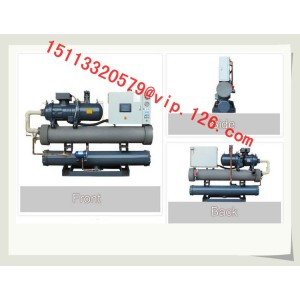 Water Cooled Industrial Screw Chiller for Molding
