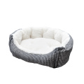 Pet Bed Lounge a cuadros
